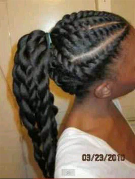 blqck hair styles poney tails and flat twist jumbo flat twist hair goal kaboodle pinterest
