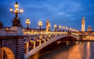 Par 237 s francia ciudad noche luces pont alexandre iii puente