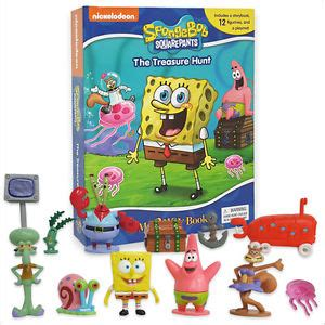 Figure Isi 12 Busy Book spongebob squarepants busy book story 12 figures and a playmat brand new ebay