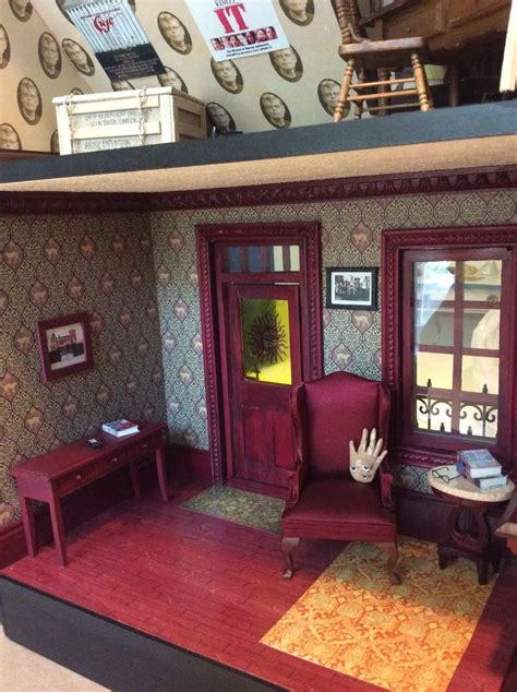 Stephen King House Interior by Inside Sk Miniature House Thibeault Stephen