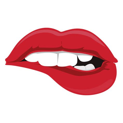 imagenes png labios lips biting expression transparent png svg vector