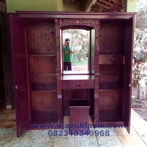 Foto Dan Lemari Pakaian jual model lemari pakaian dan meja rias set lemari ukir