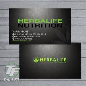 herbalife business cards herbalife graphics by totalfitwear