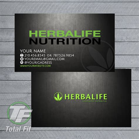 Herbalife Business Cards Templates herbalife business cards herbalife graphics by totalfitwear