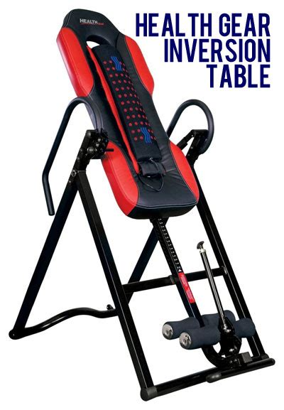 health gear inversion table how is it better