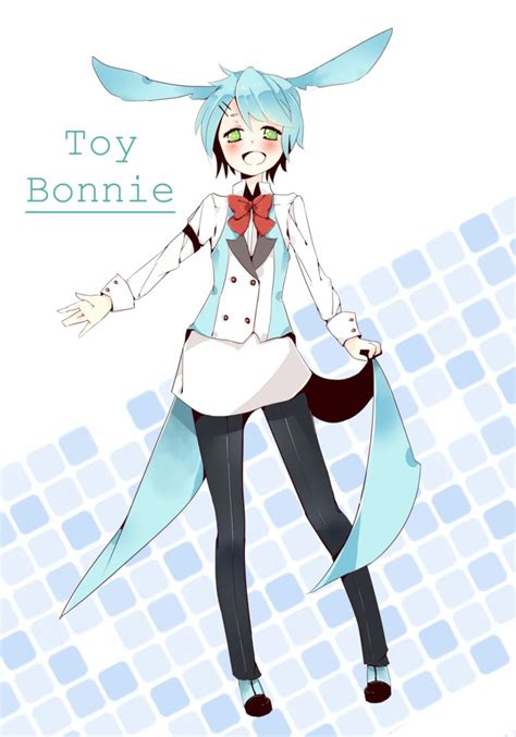 imagenes kawaii de toy bonnie toy bonnie human by miesakie on deviantart