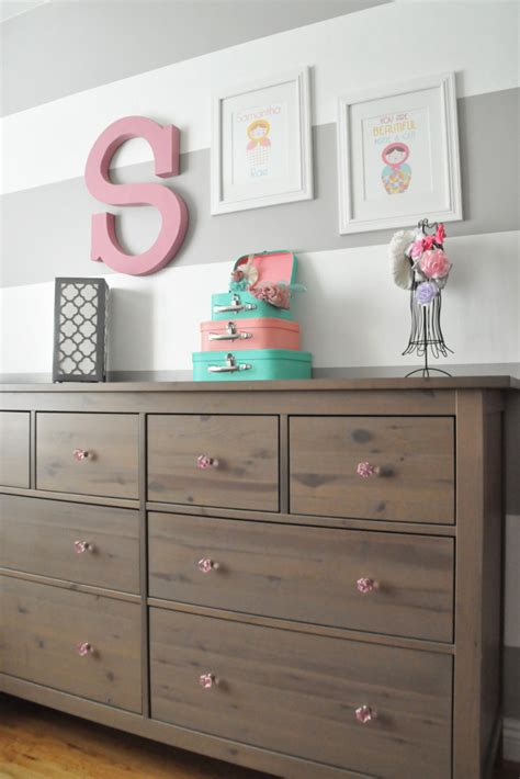 Hemnes Dresser Nursery by Matryoshka Doll Nursery Project Nursery