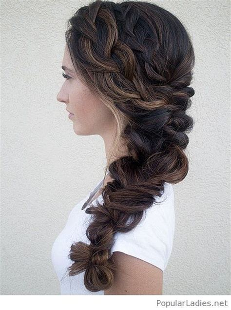 Wedding Hairstyles With A Braid On The Side by Wedding Hair Style Braid Www Pixshark Images