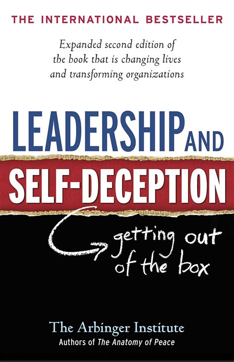the deception books leadership and self deception banyen books sound