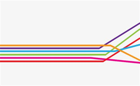colorful lines colorful lines color underline colour line png and