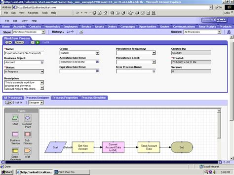 workflow process in siebel a using siebel workflows