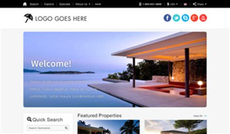 What Is The Best Vacation Rental Website Template Vacation Rental Website Template