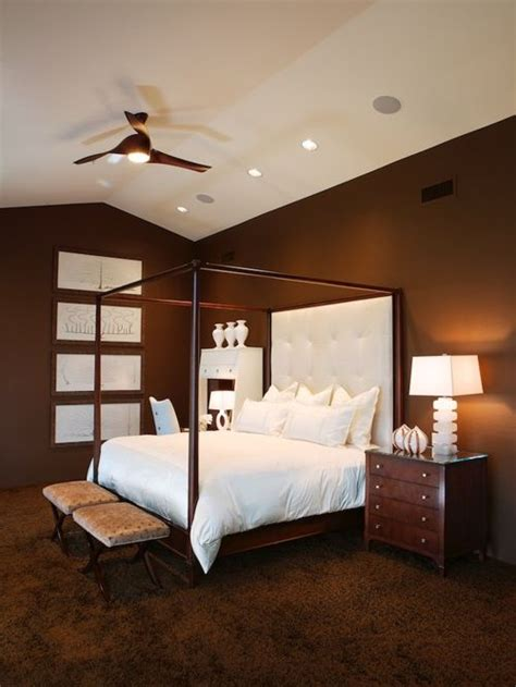 white and brown bedroom houzz