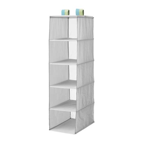 ikea small storage sl 196 kting storage with 5 compartments grey 25x40x98 cm ikea