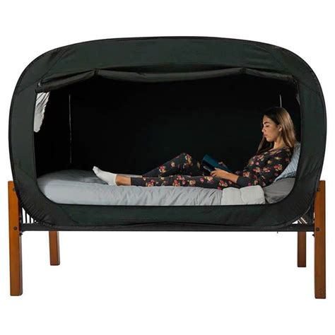 privacy tent bed privacy pop s bed tent helps you sleep soundly when you re