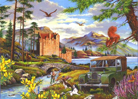 500 Jigsaw Puzzle hooked 500 pc jigsaw puzzle by the house of puzzles