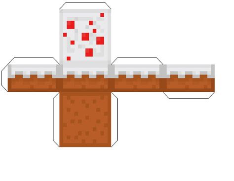 Minecraft Origami Printables - print out cake minecraft by homestucklover14 on deviantart