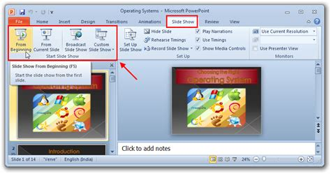 Open Pptx As Slideshow Automatically Easytweaks Com Powerpoint Slideshow