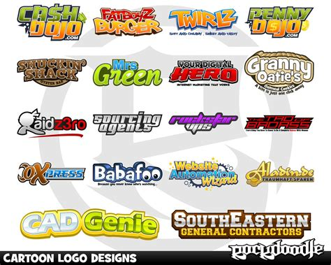 Resumes Online by Cartoon Logo Design By Rockdoodle On Envato Studio
