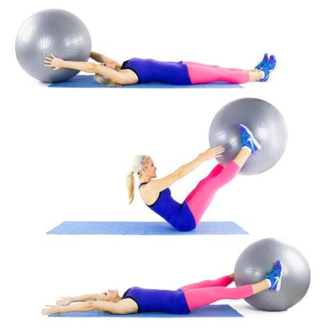 stability ball  pass exercise staying fit stability