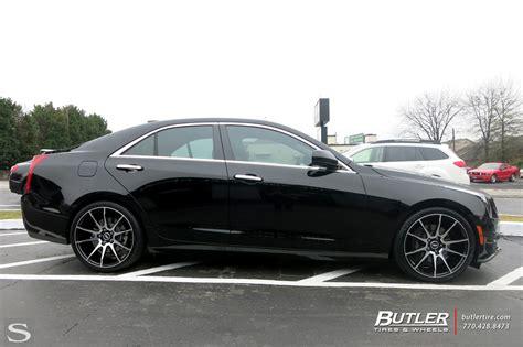 Cadillac Ats Black by Cadillac Ats Savini Wheels