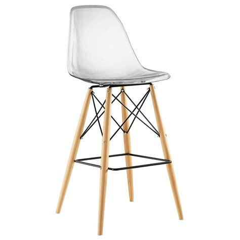 Clear Water Stool by Modern Bar Stools Truss Clear Bar Stool Eurway