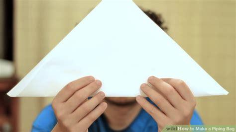 How To Make Paper Piping Bag - how to make a piping bag 10 steps with pictures wikihow
