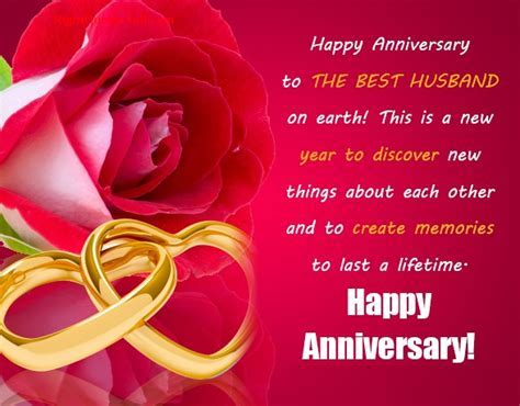 Wedding Anniversary Messages for Husband, Anniversary