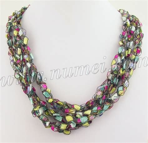 Handmade Ribbon - handmade ribbon necklace mg6983