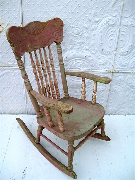 antique back rocking chairs lace vintage rocking chair my next redo