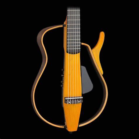 Yamaha Slg130nw Nylon String Silent Guitar Light Amber Guitar String Lights