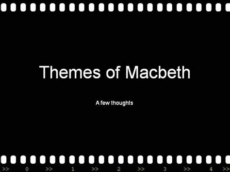 themes in macbeth ppt themes in macbeth authorstream