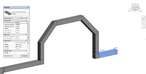 solved cable tray elbow autodesk community