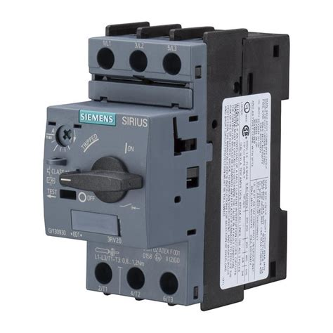 broken circuit breaker circuit breaker siemens sirius 3rv2011 0aa10 automation24