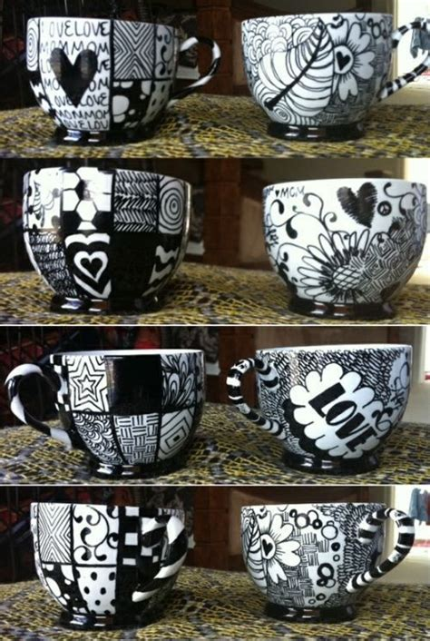 design your own mug with permanent marker the truth about permanent marker mugs and how to really
