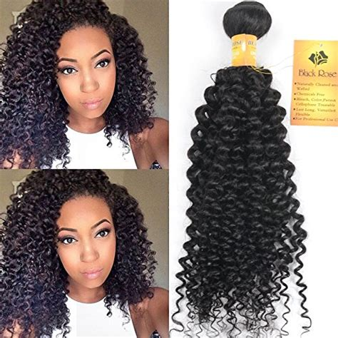 photo gallery of the best 8inch jerry curl weave hair styles amazon com black rose hair 18 inch indian jerry curl