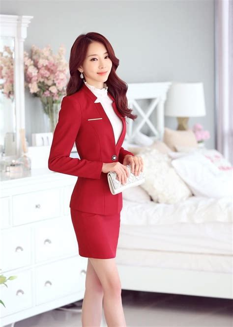 Set Noni Skirt Clothes formal blazer business suits with skirt and and jacket sets slim formal office