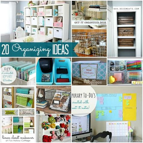 how to organise your home great ideas 20 ways to organize your home
