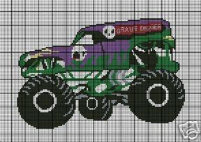 Grave Digger Crochet Pattern