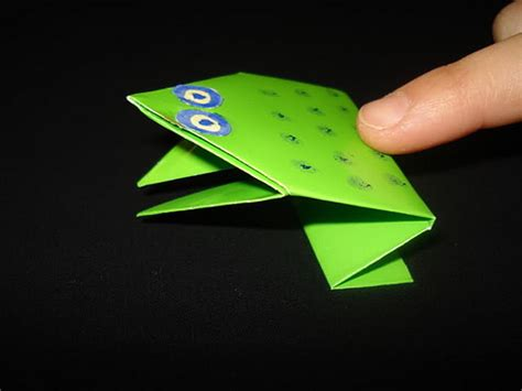Easy Origami Jumping Frog - easy origami frog image search results