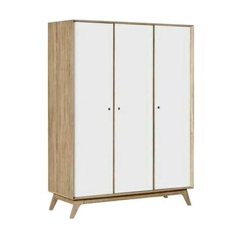 Lemari Pakaian Di Lotte Mart jual daily deals creova lemari pakaian putih 3 pintu