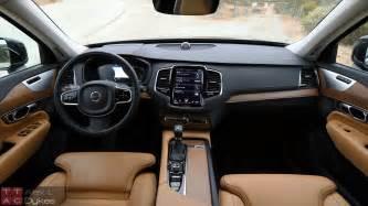 Volvo Xc90 Interior Pictures 2016 Volvo Xc90 Inscription Interior 001 The About