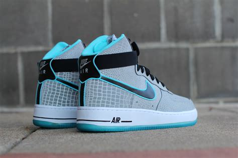 Nike Air 1 High nike air 1 high quot reflective silver croc quot release date sbd