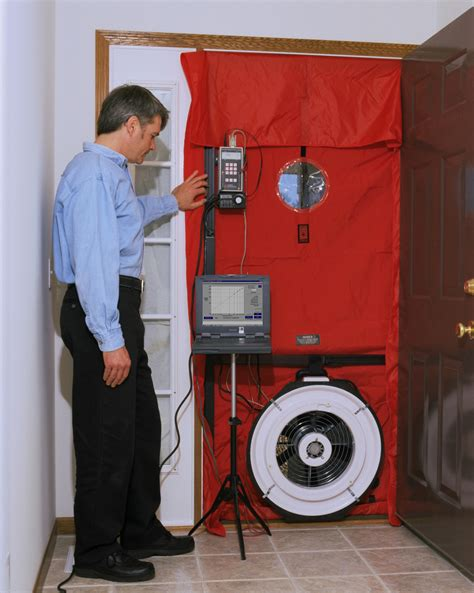 Blower Door Testing by Blower Door Basics Greenbuildingadvisor