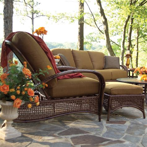 tuscany seating wicker patio set summer classics