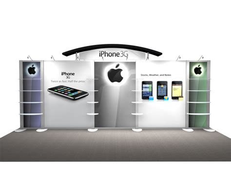 Phone Charging Stations by Exhibit Design Search Re 2008 Iphone Rental Displays