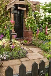 Front Door Garden Home Curb Appeal With Herb Garden Plant Flower Stock Photography Gardenphotos
