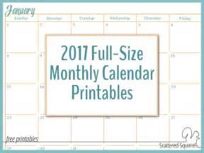 calendar 2017 full page printable calendar template 2017