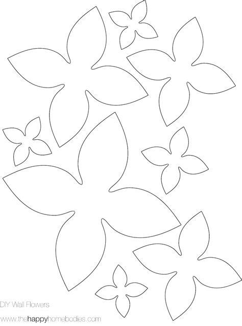 Printable Poinsettia Flower Template Printable Printable Template