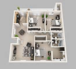 3 bed 3 bath floor plans lux13 apartments